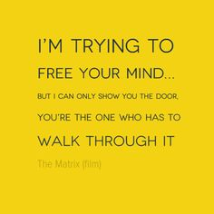 #Free your mind | http://www.humancondition.com