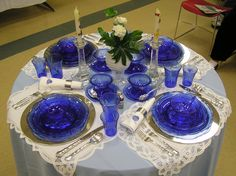Depression Glass Tablesettings | The Michigan Depression Glass Society