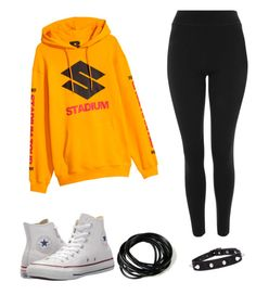"""""""BieberFan Look #25"""" by lunqqa on Polyvore featuring Topshop and Converse"""