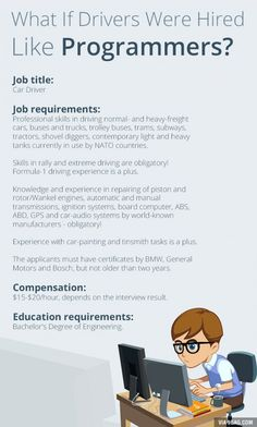If Drivers Were Hired Like Programmers