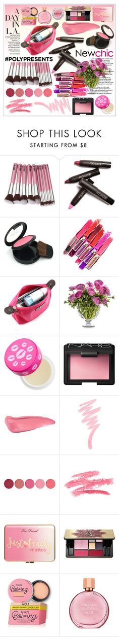 """♥ Newchic 2/ 10 ♥"" by av-anul ❤ liked on Polyvore featuring beauty, Juliska, tarte, NARS Cosmetics, Victoria's Secret, Kjaer Weis, Just Peachy, Yves Saint Laurent, Estée Lauder and Rodin"