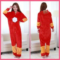 new Cosplay Pyjamas fashion Cloth Women Pajama Pijamas Iron Pijamas Mujer Flannel Women Man Sets 2015 gdUYqg