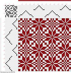draft image: Page Figure Bindungs-Lexikon für Schaftweberei, Franz… Weaving Designs, Weaving Projects, Weaving Patterns, Textile Patterns, Knitting Designs, Willow Weaving, Basket Weaving, Weaving Techniques, Embroidery Techniques