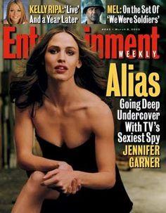 Jennifer Garner - Entertainment Weekly Magazine [United States] (8 March 2002)
