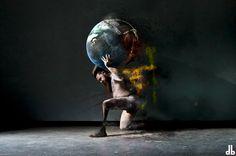 ATLANTE, TODAY #dorothybahwl #artwork #war #today #atlante