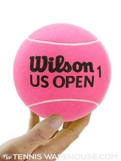 Wilson US Open Mini Jumbo Tennis Ball Pink | Tennis Warehouse