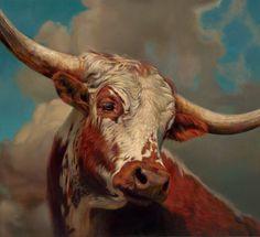 Teresa Elliott, High Noon, oil, 36 x40.