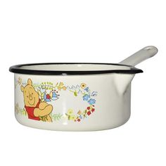 Muurla Winnie The Pooh Enamel Saucepan Winnie The Pooh Mug, Winnie The Pooh Pictures, Winnie The Pooh Nursery, Pooh Bear, Disney Winnie The Pooh, Tigger, Harry Styles, Disney Kitchen, Paddington Bear