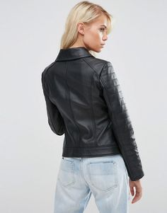 ASOS | ASOS Ultimate Biker Jacket in Leather