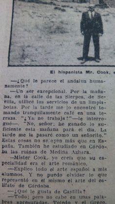 #WalterWSCook #Andaluz. En: La #EstafetaLiteraria, 1956 #Cultura