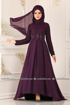 6883e700a06e4 Tesettür Abiye - Tesettür Abiye Elbiseler ve Fiyatları