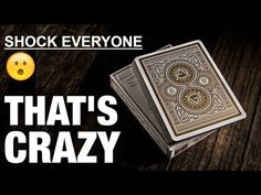 This card trick will shock everyone// Performance and tutorial Magic Tricks For Beginners, Magic Tricks Revealed, Easy Magic Tricks, Card Tricks, Projects To Try, Cards, Magic Tricks, Maps, Playing Cards