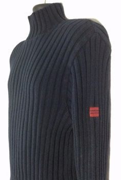 Shop for everything but the ordinary. More than sellers offering you a vibrant collection of fashion, collectibles, home decor, and more. Mens Turtleneck, Vintage Sweaters, The Ordinary, Vintage Men, Abercrombie Fitch, Navy Blue, Turtle Neck, Slim, Fitness