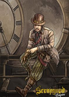 Not all characters in the Scrapyard Empire contest are to be trifled with....especially not Seth Snoopinsky! For more unscrupulous characters visit our project page - http://www.scrapyardempire.com  #steampunkart #steampunkcharacter #spy