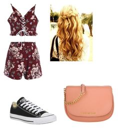 """Cute #2"" by madison-kohut on Polyvore featuring Converse and Michael Kors"