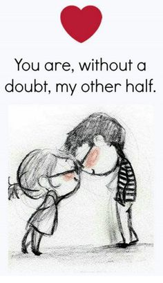 happy love quote You are my other half is part of Sarcastic quotes Girls Life - happy love quote You are my other half, find more Love Quotes on LoveIMGs LoveIMGs is a free Images Pinboard for people to share love images Cute Love Quotes, Soulmate Love Quotes, Cute Love Images, Love Quotes For Her, Romantic Love Quotes, Hubby Quotes, Love Quotes Images, Trust Quotes, Beautiful Images