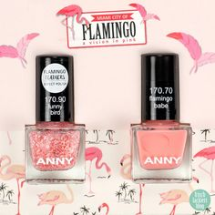 ANNY flamingo babe & funny bird - swatch by frischlackiert