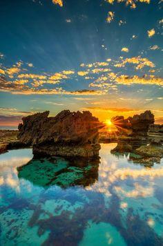 Tramonto in Australia