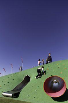 Blaxland Sydney Olympic Park  Landscape Architecture Works | Landezine | Kids Playground