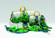 Gucci cria coleção inspirada no Pantanal para público brasileiro Araras e folhagens estampam bolsas e echarpes da linha especial da marca de luxo