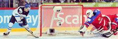 Kasperi Kapanen scoring OT goal to clinch IIHF WJC 2016.
