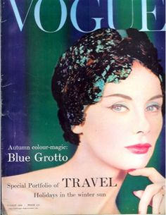 1958: Vogue cover, August