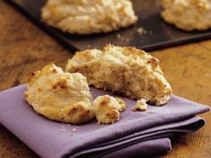 Its hard to believe that just three ingredients can make such flavorful onion biscuits.