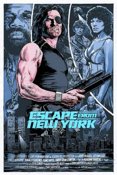 """""""Escape from New York"""" (1981)."""
