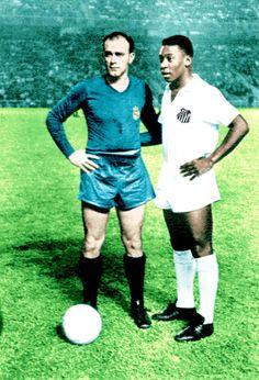 Di Stefano & Pelé. Pelé el mejor de todos los tiempos