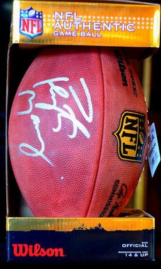 Auction item 'Autographed Peyton Manning Football from the Colts' hosted online at 32auctions.
