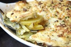 Artichoke and Potato Gratin! http://blog.yummly.com/blog/2013/11/creative-potato-dishes-worthy-of-thanksgiving-dinner/