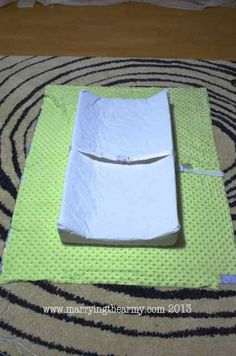 How To Make Your Own Changing Table Pad And Changing Pad Cover. Easy  Instructions And Tutorial For Your Diy Nursery.