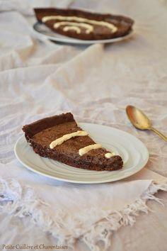Tarte Mousse au Chocolat et Crème de Mascarpone