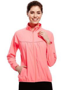 High Impact Showerproof Long Sleeve Running Jacket | M&S