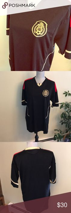 Men's Mexico soccer jersey NWOT Men's Federacion Mexicana Soccer Jersey Size M Perfect Condition Shirts