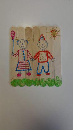 Puzzle menino e menina (utilização de figuras geométricas)