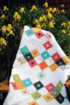 Layer Cake or Fat Quarters quilt