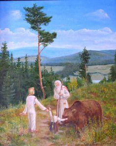 """Conversation with the Elder"" by Vlad ""Galaktik"""