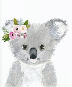 Watercolor Koala Nursey Print Australian Animals Nursery - Watercolor Koala Nursey Print Australian Animals Nursery Koala Nursery Art Decor Cute Koala Animal Wall Art Childrens Wall Decor More Information Find This Pin And More On For My Classroom By Jo # Koala Nursery, Animal Nursery, Nursery Art, Baby Koala, Baby Hippo, Baby Otters, Baby Animal Drawings, Cute Drawings, Watercolor Animals