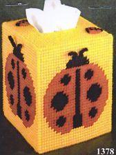 Design Works ~ Ladybug Tissue Box Pattern