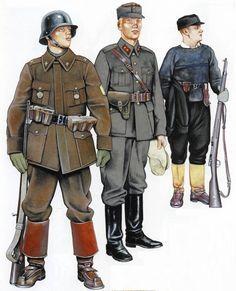 Finnish forces Winter war