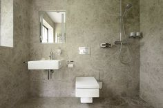 Small bathroom in the photo Small Bathroom Floor Plans, Bathroom Layout Plans, Small Bathroom Layout, Compact Bathroom, Modern Bathroom, Dyi Bathroom Remodel, Lavatory Design, Small Toilet, Bathroom Trends