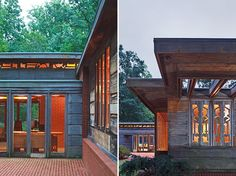 Pope-Leighey House | Alexandria, Virginia | Frank Lloyd Wright | photo by Ron Blunt