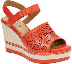 8e6ed4e68c4b3a Clarks Women s Zia Graze Wedge Sandal - Grenadine Sandals