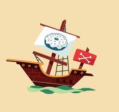 Krispy Kreme - Pirate Day! on Behance