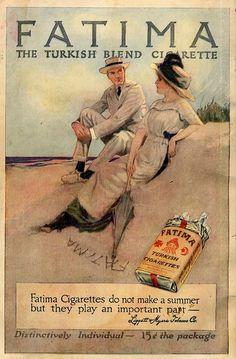 Fatima Cigarettes, 1914