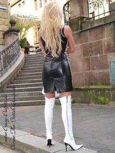 Lederkleid DS-134 : Crazy-Outfits - Webshop für Lederbekleidung, Schuhe &…