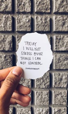 Today I will not stress over things I can't control. | Inspirational quotes | motivational quotes | motivation | personal growth and development | quotes to live by | mindset | self-care | strength | courage | You are enough | passion | dreams | goals | Journeystrength | Encouraging words #InspirationalQuotes | #motivationalquotes | #quotes | #quoteoftheday | #quotestoliveby | #quotesdaily