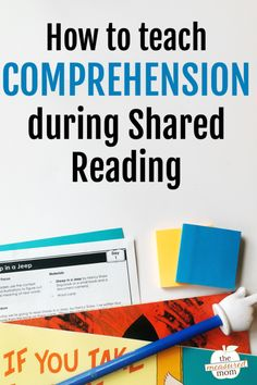 Shared reading is great for teaching all basic reading skills - including phonics. Learn how to teach phonics during shared reading lessons! Kinds Of Reading, Reading Day, Shared Reading, Student Reading, Teaching Reading, Phonics Reading, Kindergarten Reading, Guided Reading, Reading Lesson Plans