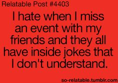 Hate this :(